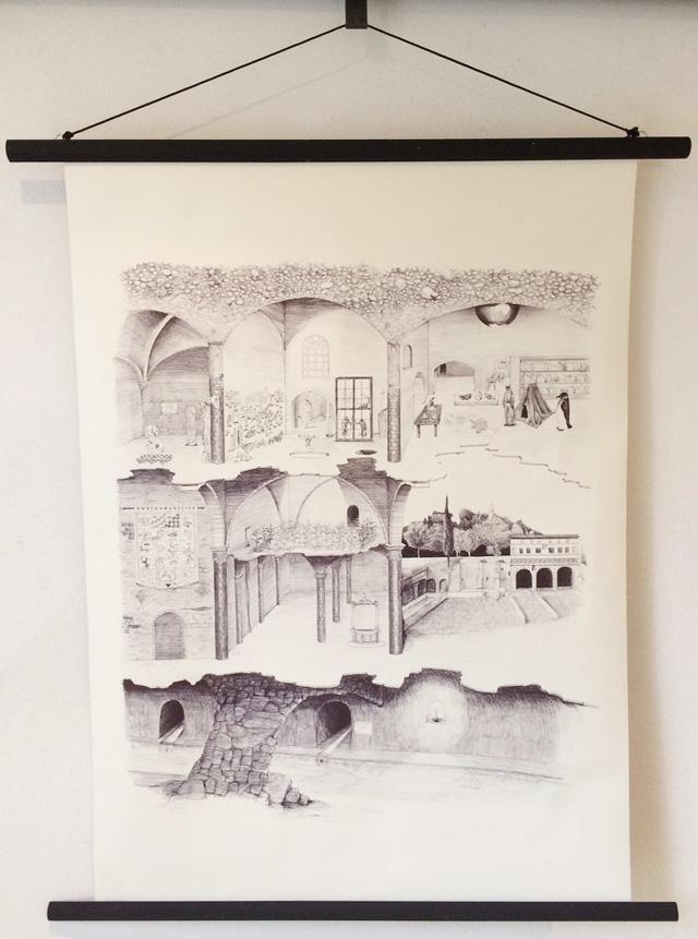 Siena Art Institute student Serena Cestari's graph.