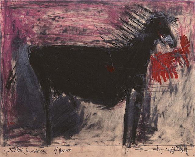 """Kenneth Feldsott, """"Horse"""" (ND)"""