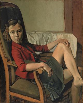5._Thérèse (1938)_Balthus