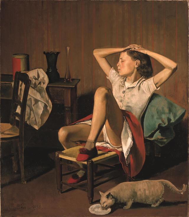 6._Thérèse Dreaming_Balthus