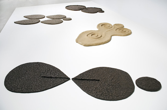 "Ana Mendieta, ""Mud and Sand Figures"""