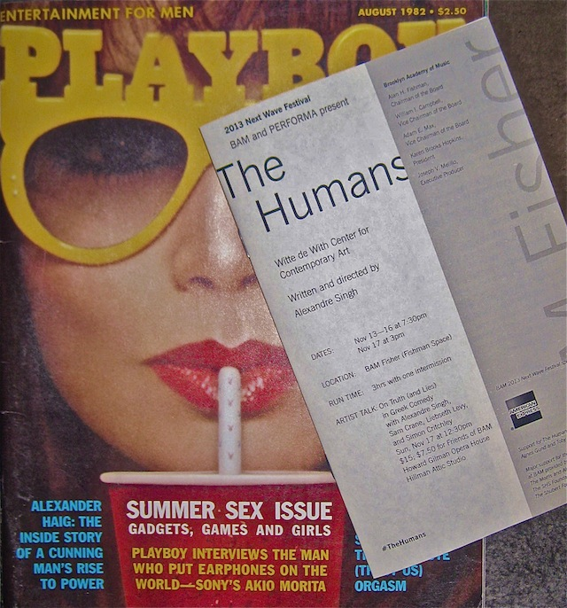 Cooper - Playboy cover with BAM program