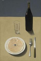 "Rene Magritte's ""The Portrait"" (1935) (via Wikipedia)"