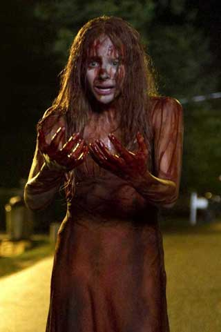 """Film still from Kimberly Peirce's """"Carrie"""" (© Screen Gems) (via aceshowbiz.com) (click to enlarge)"""