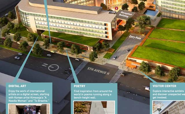 The Bill and Melinda Gates Foundation Headquarters (screenshot via the Gates Foundation)