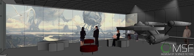 Preview museum architectural rendering by Imarchination