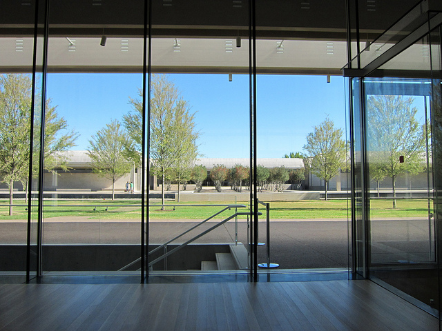 Renzo Piano Building at the Kimbell