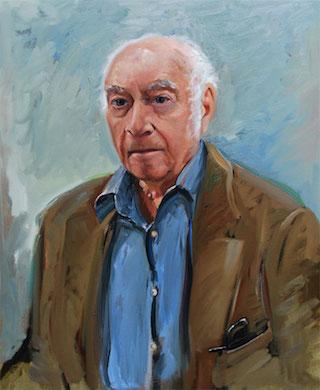 Portrait of Peter Slez by Deladier Almeida (image via the artist)
