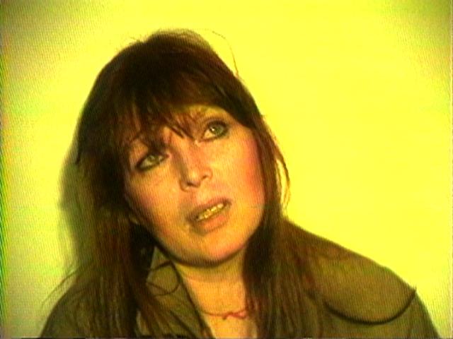"Nico singing ""New York, New York"" Courtesy Electronic Arts Intermix (EAI), New York"