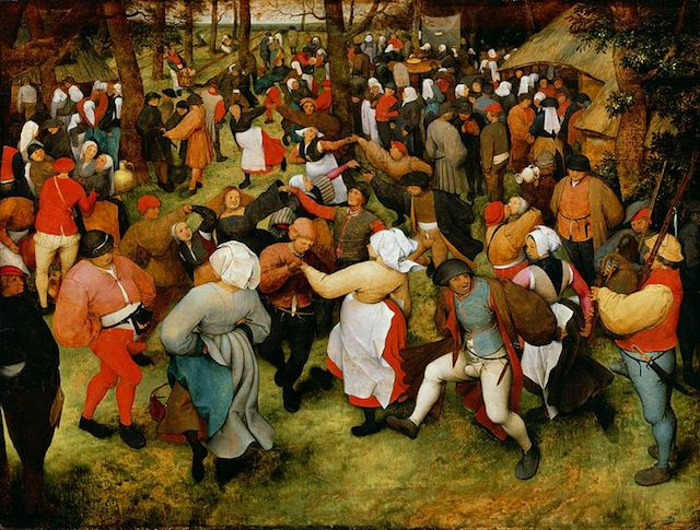 """Peter Bruegel the Elder's """"The Wedding Dance"""" (c. 1566)"""
