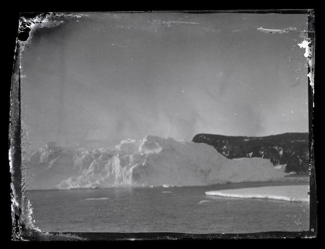 AHT Iceberg and land Ross Island Antarctica