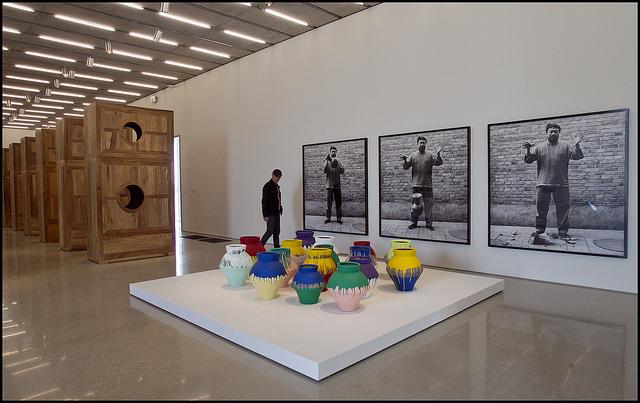 Ai Weiwei Responds To Vase Dropper