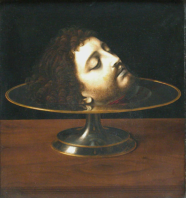 Andrea Solario (1460–1524) The Head of John the Baptist on a Charger