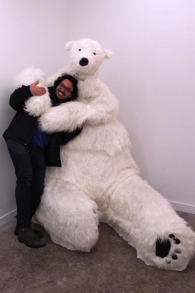 Assaf Evron and Polar Bear
