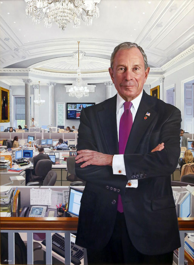 Mayor Bloomberg Unveils His Of...