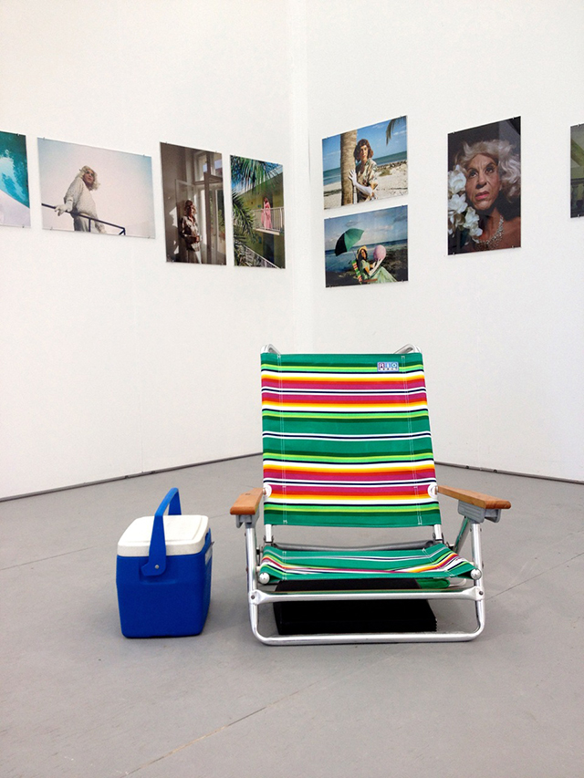 Montezland (installation view, booth B16)