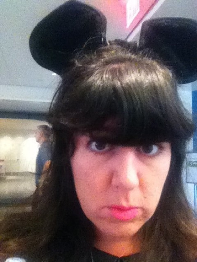 Laura-Marie Marciano Minnie Mouse Selfie