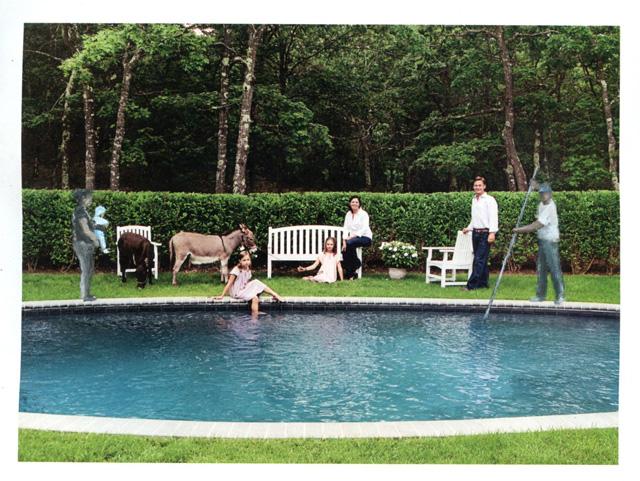 "Ramiro Gomez, ""Portrait of an Affluent Family"" (2013)"