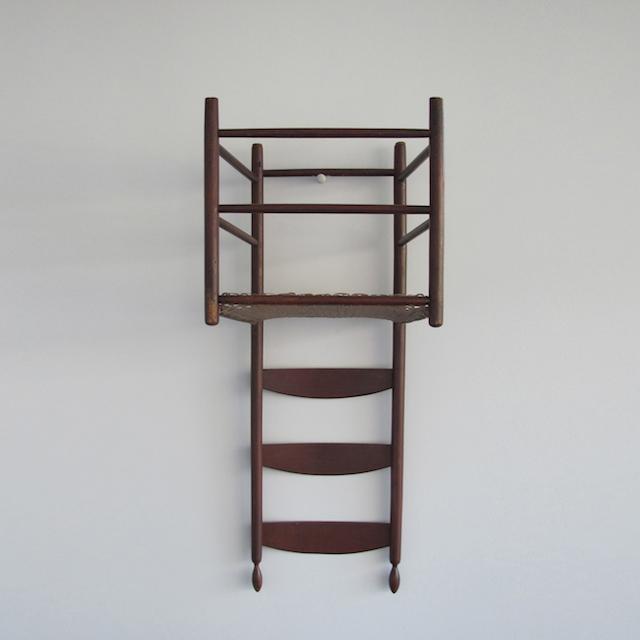 Shaker Chair from Robert Wilson, Living Rooms, Louvre Paris (2013)
