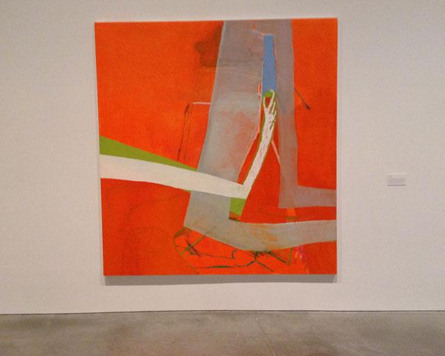 """Amy Sillman, """"Shade"""" (2010), oil on canvas"""