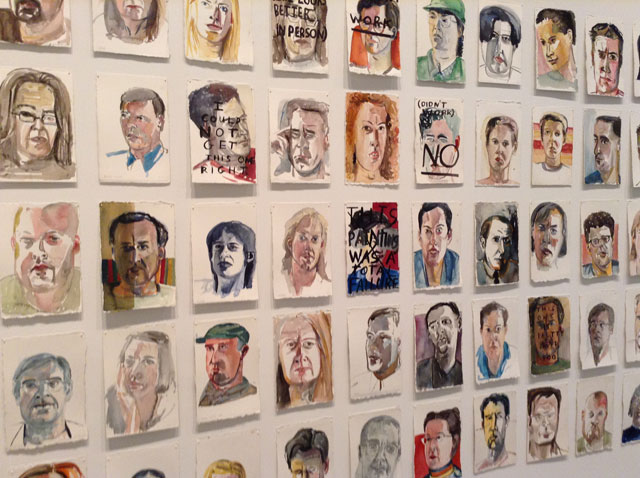 "Amy Sillman, ""Williamsburg Portraits"" (detail) (1991–92)"
