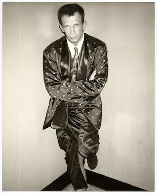 Andy Warhol (American, 1928–1987). Jean Paul Gaultier, 1984. Black and white print,10 x 8 in. (25.4 x 20.3 cm). (© 2013 The Andy Warhol Foundation for the Visual Arts, Inc./Licensed by ARS)