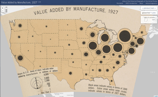 American History Digitized And Animated Through Hundreds Of 1930s Maps - Us-history-map-test