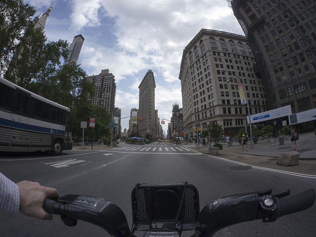 Citibike View (photograph by rothar/Flickr user)