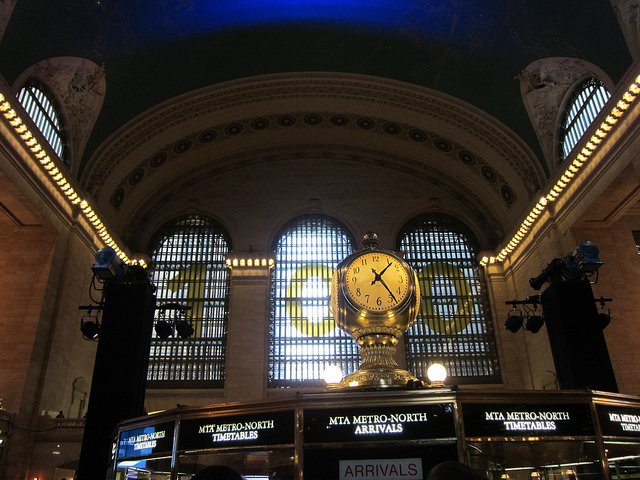 Grand Central celebrates its 100th birthday! (photograph by the author)