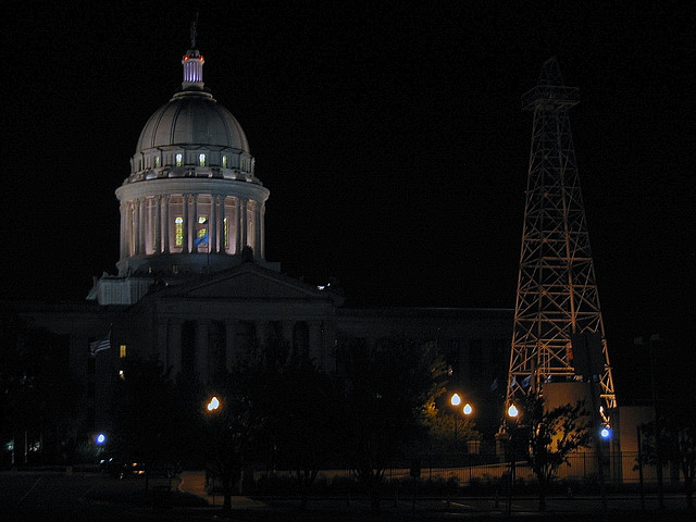 Oklahoma State Capitol (photograph by the author)