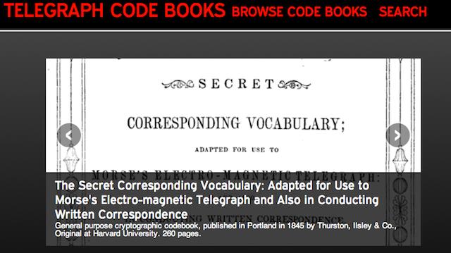 telegraphcodebook