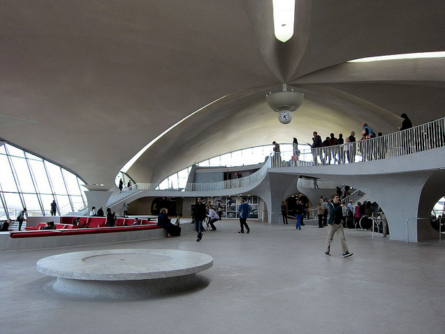 TWA Flight Center during the 2012 Open House New York (photograph by the author)