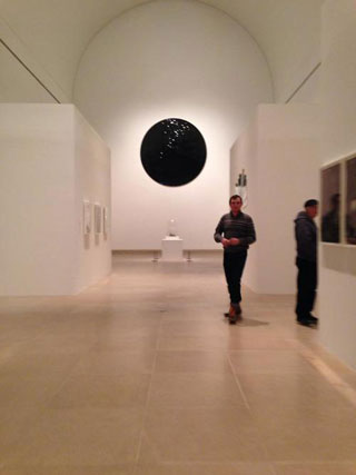 View of the Barrel Vault Gallery (photo by the author for Hyperallergic) (click to enlarge)