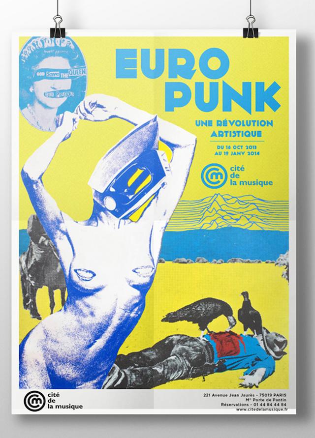 Europunk press poster
