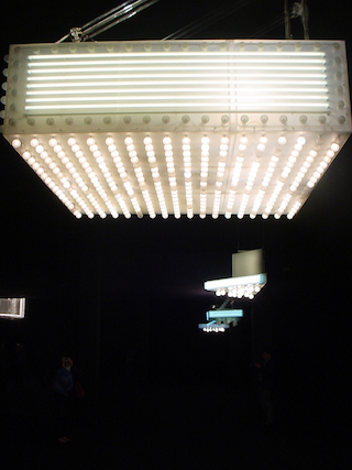 Installation photo taken by the writer during the Philippe Parreno exposition8