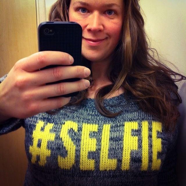 Selfie by Julia Kozersk