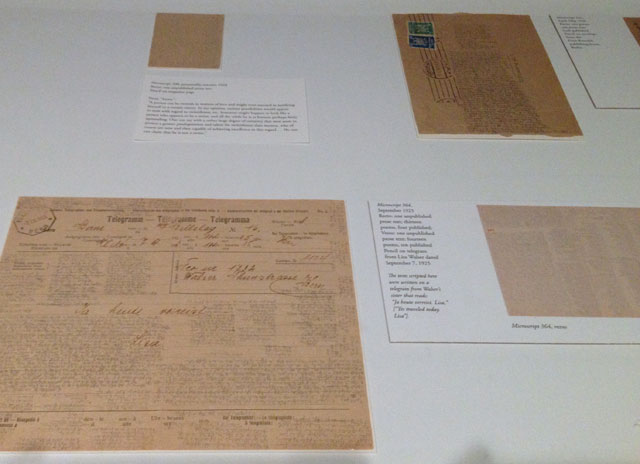 Microscripts by Robert Walser