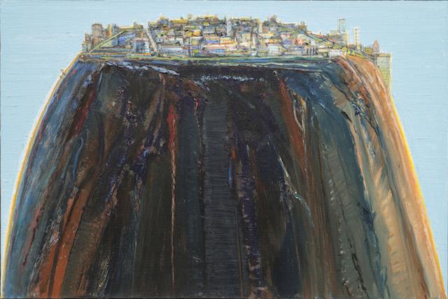 "Wayne Thiebaud, ""Laguna Rise"" (2003–12)"