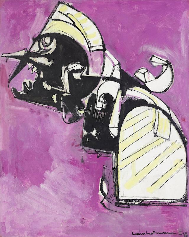 "Hans Hofmann, ""Fury No. 1"" (1945)"