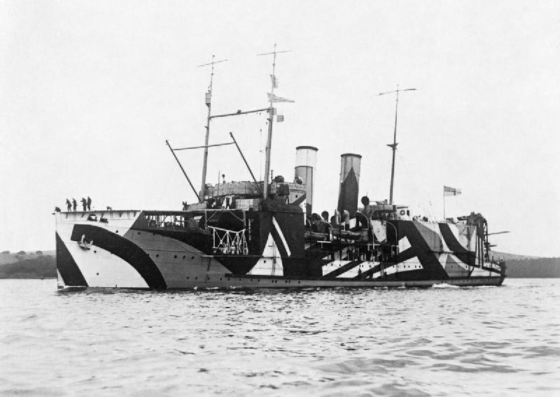 HMS Pegasus (1917) (via Imperial War Museums)
