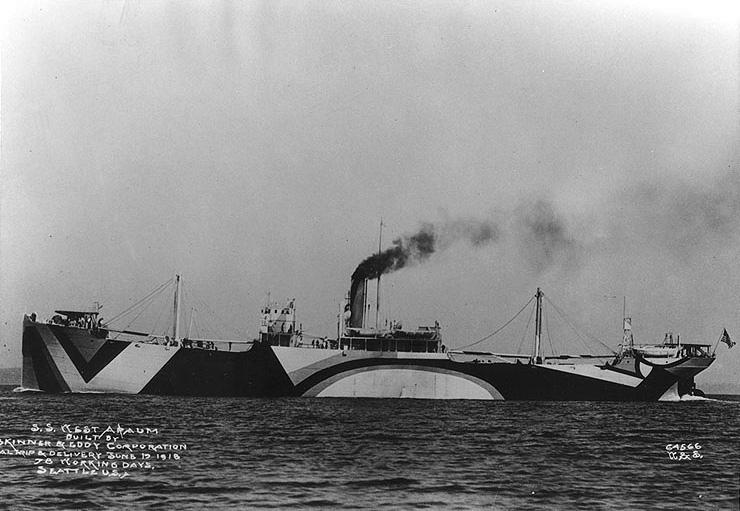 SS West Apaum freighter (1918) (via U.S. Naval Historical Center)