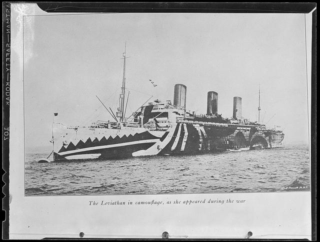 USS Leviathan (via Boston Public Library)