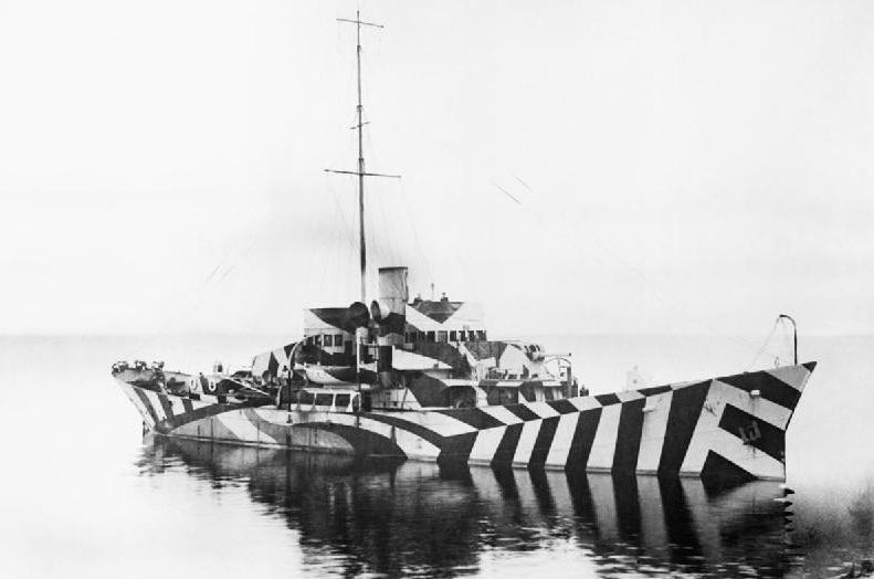 HMS Killbride patrol gunboat (via Imperial War Museums)