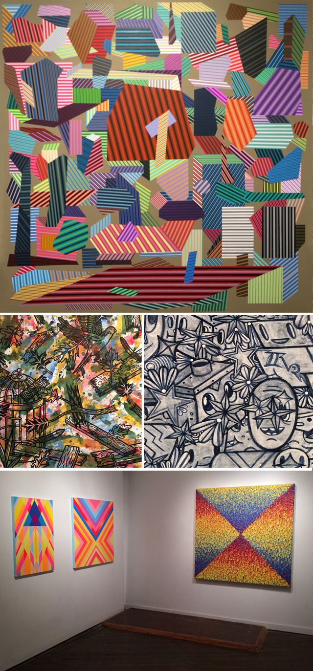 Clockwise from top: (all images by the author for Hyperallergic)
