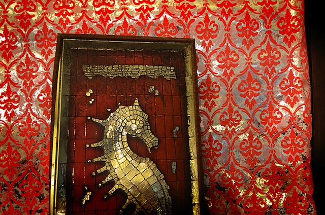 Seahorse in Seafoam Palace (photograph by Julia Solis)