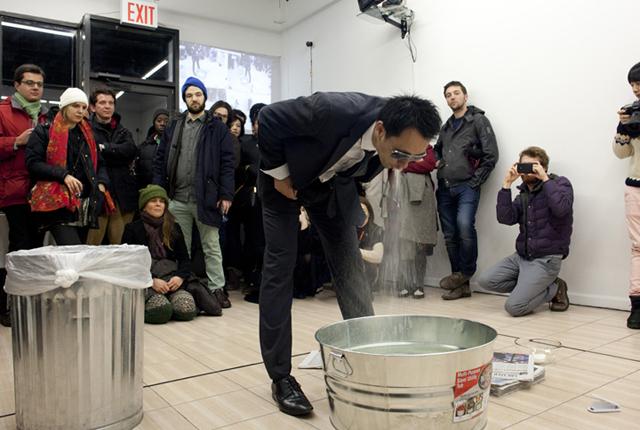 "Miao Jiaxin, ""News"" (December 31st, 2013) at OUTLET Fine Art"