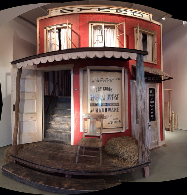 """Skylar Fein, """"The Lincoln Bedroom"""" (2013) in C24 Gallery (all images by the author for Hyperallergic)"""