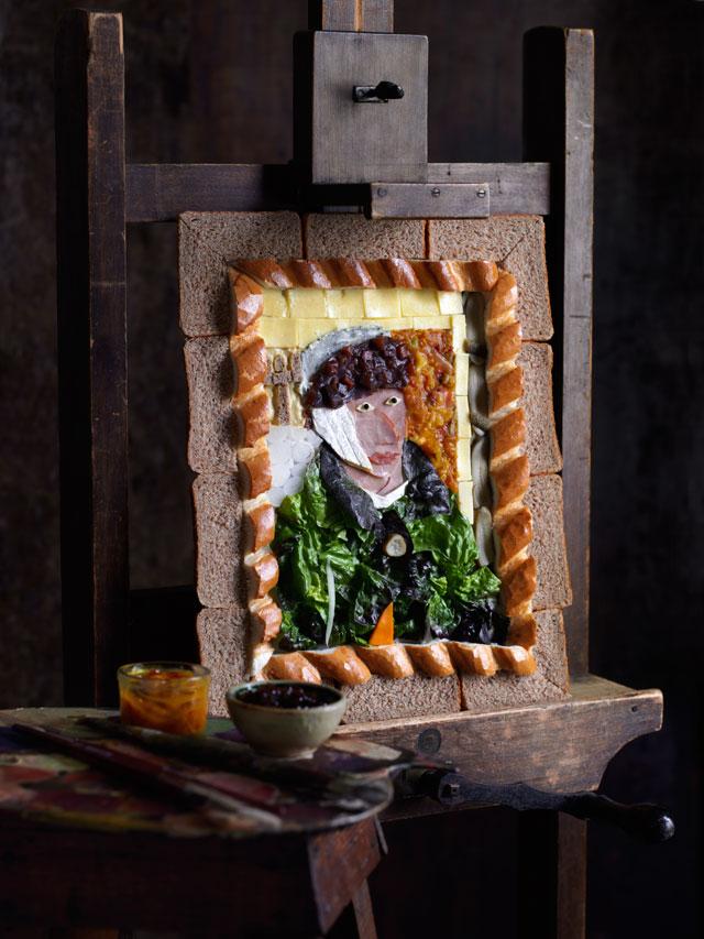 Van Gogh–inspired Ploughman's