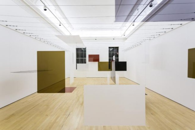 "Install shot of ""an Exhibit"", ""Richard Hamilton at the ICA"" (courtesy ICA, Photo Mark Blower)"