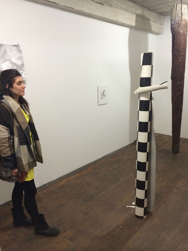 Work by Jeremy Jansen at Greenpoint Terminal Gallery (all photos by Hrag Vartanian)